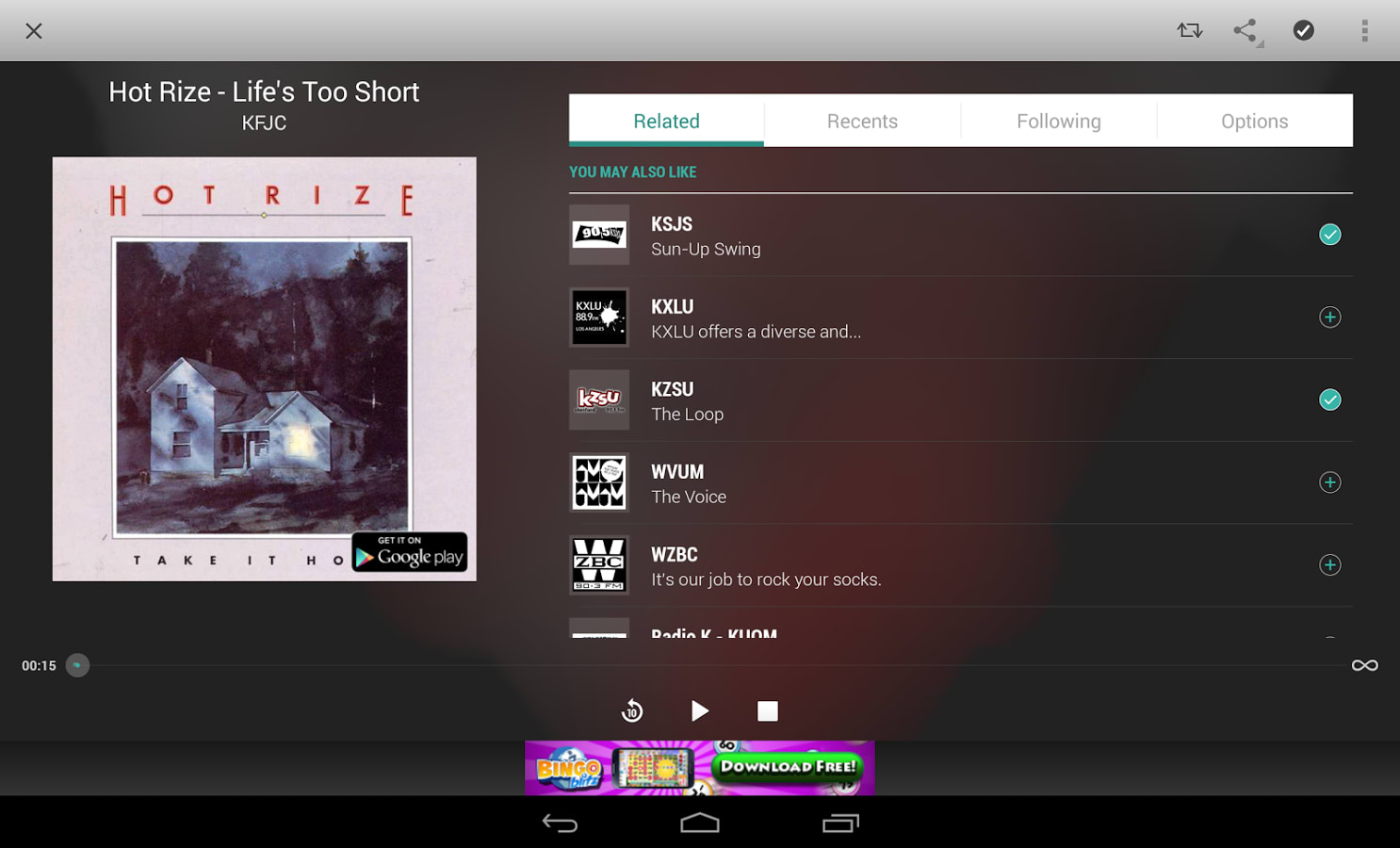 tunein radio para windows phone gratis