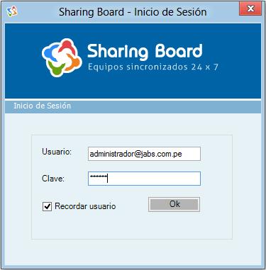 Sharing Board