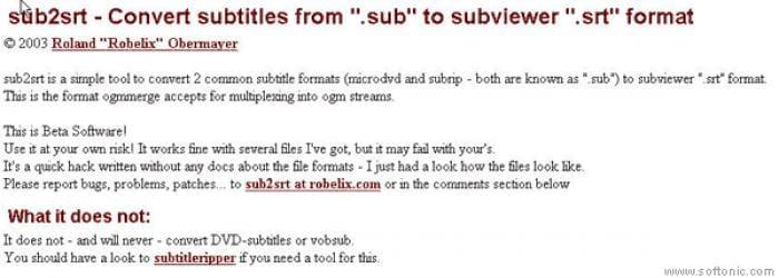 Sub2Srt