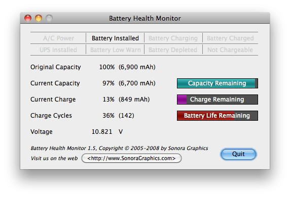 Battery Health Monitor
