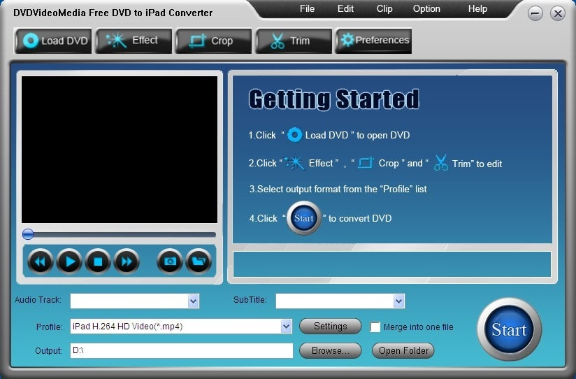 Free DVD to iPad Converter