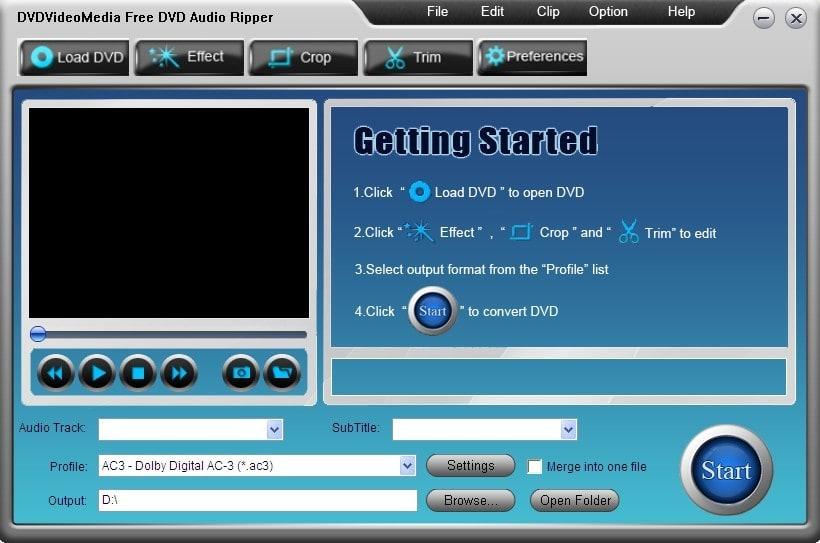 Free DVD Audio Ripper