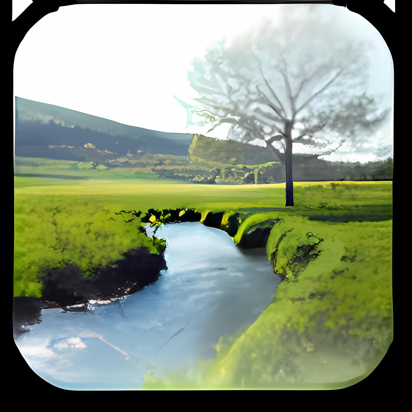 River in Bavaria Wallpaper