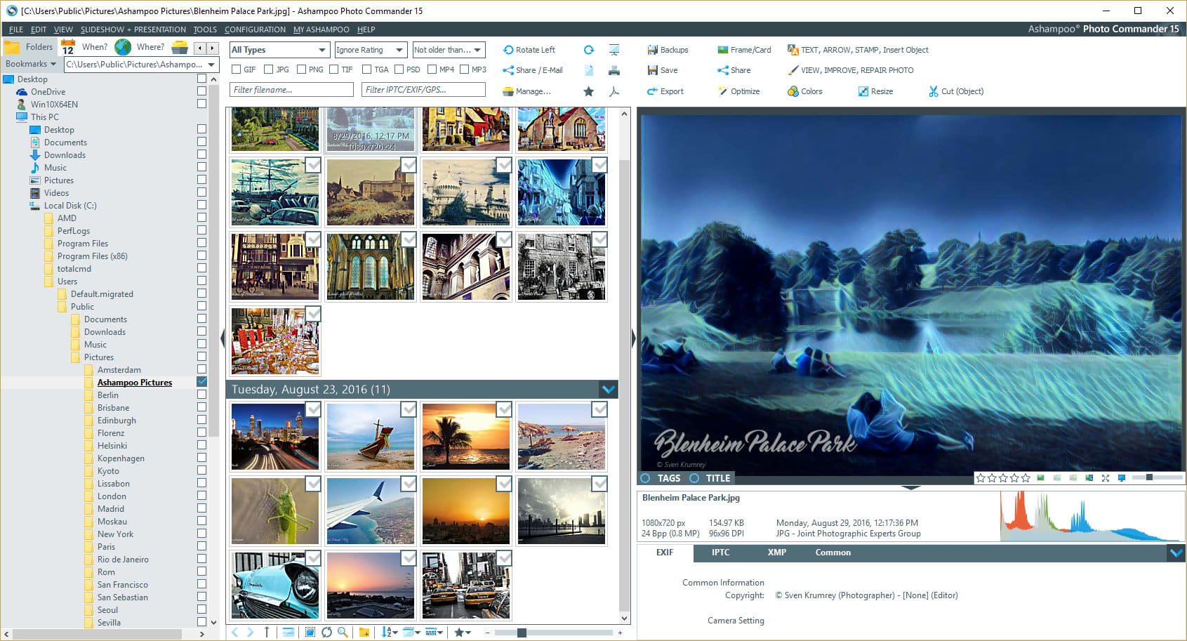 Ashampoo Photo Commander 16.0.1