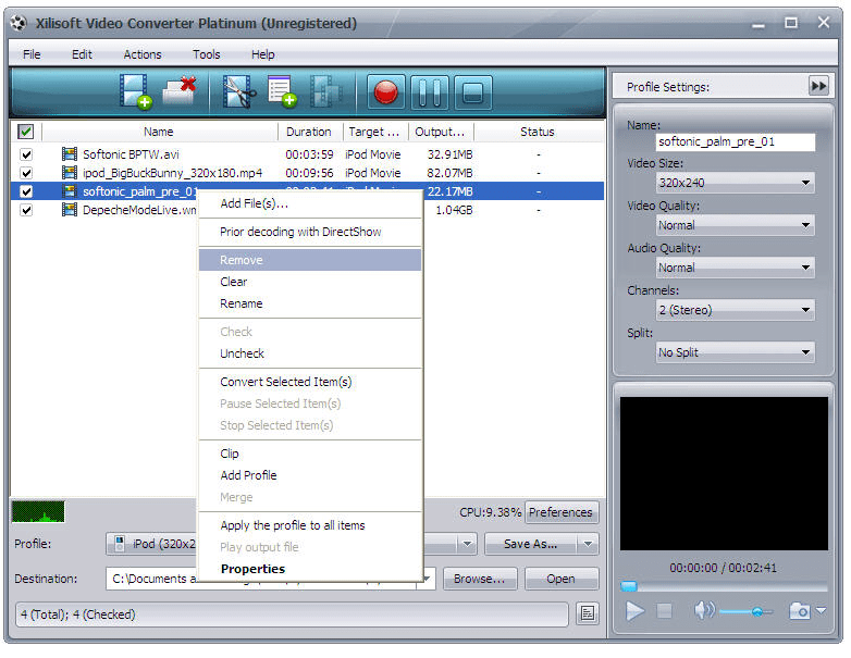 Xilisoft iPod Video Converter 5.1.22.0310