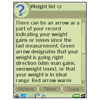 Weight Log