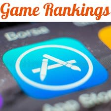 Game Rankings from iTunes