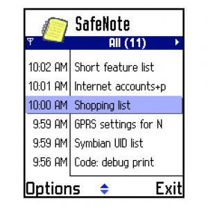 SafeNote