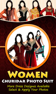 Women Churidar Photo Suit