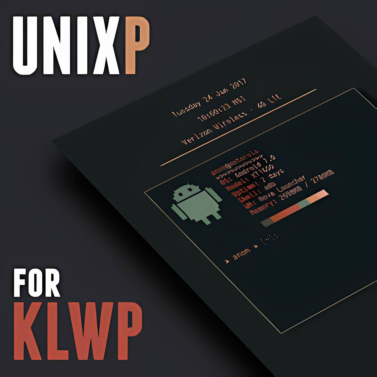 UnixP for KLWP