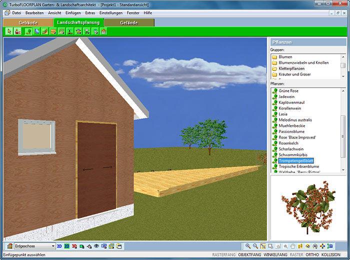 Turbo FloorPlan Garten- und Landschaftsarchitekt - Download