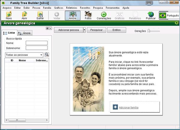 arvore genealogica gratis