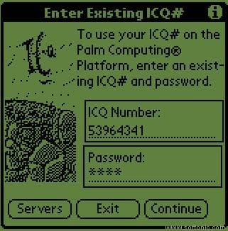 ICQ for Palm