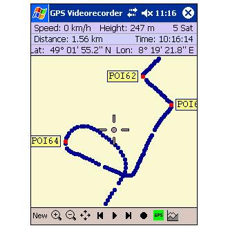 GPS Videorecorder