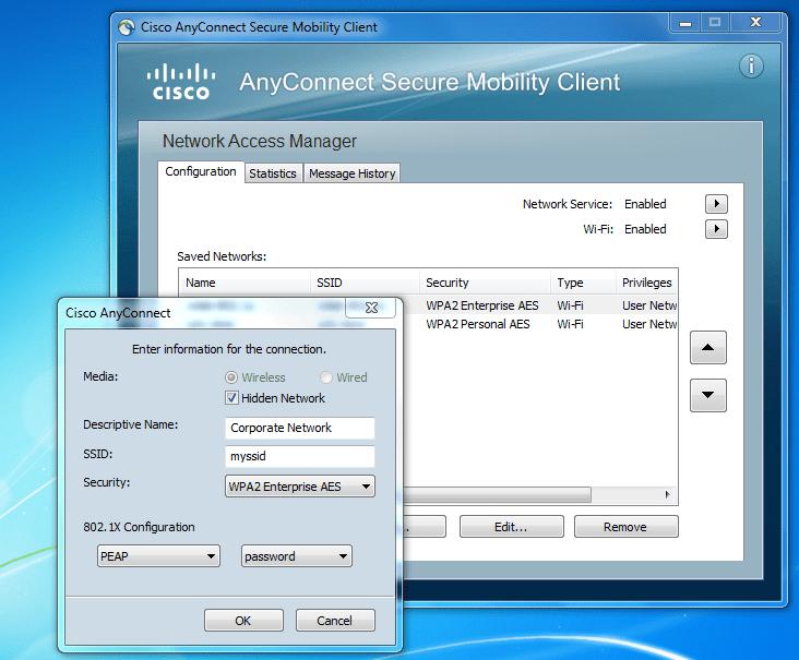 cisco anyconnect ダウンロード mac