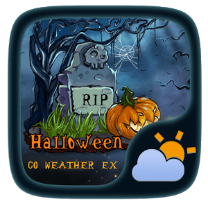 Halloween Weather Widget Theme