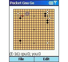 Pocket GNU Go