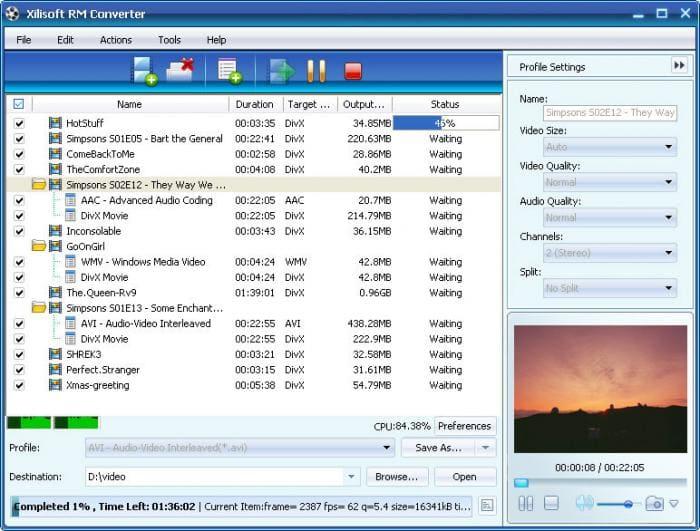Xilisoft RM Converter