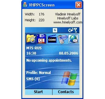 VH PocketPC Capture