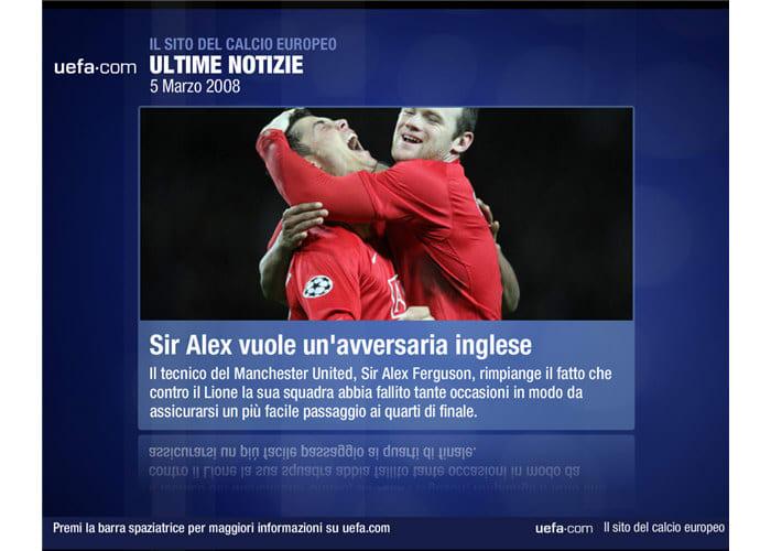 UEFA Dynamic Screensaver