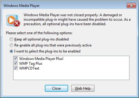 Windows Media Player Plus