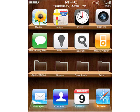 iPhoneishStorm Theme