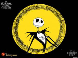 Wallpaper The Nightmare before Christmas