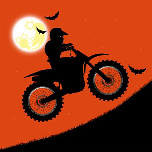 Free Moto Racer Halloween Town