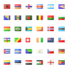 Free Flag Icon Set for PowerPoint