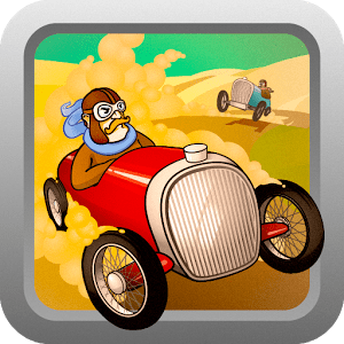 Retro car racing 1.0.2
