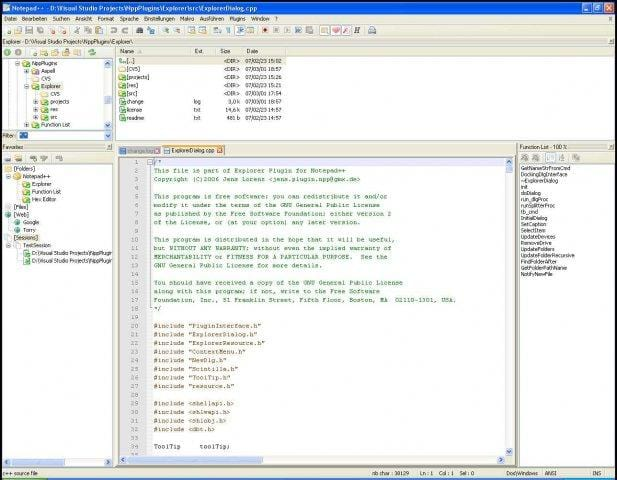 Notepad++ Plugins