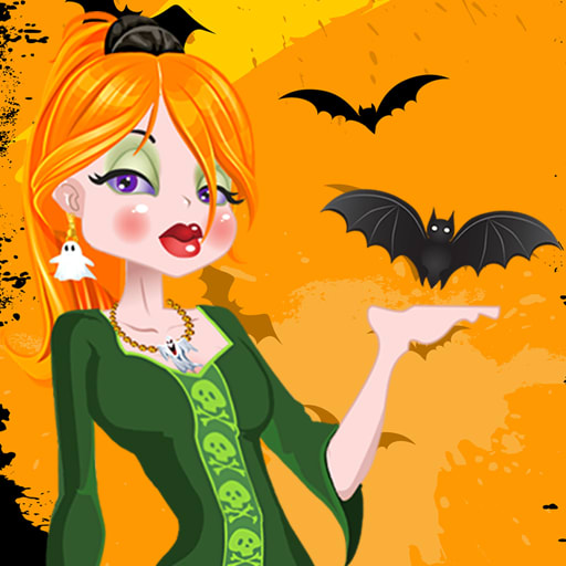 Dress Up Halloween Girl