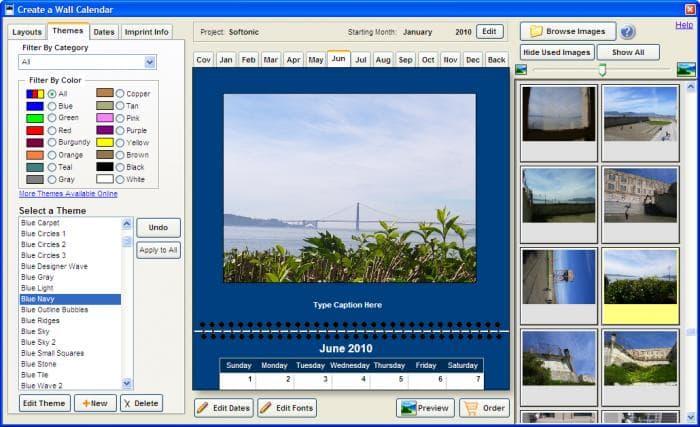 Create Photo Calendar