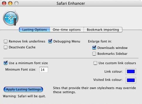 Safari Enhancer