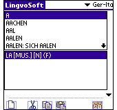 LingvoSoft Dictionary Deutsch-Italienisch