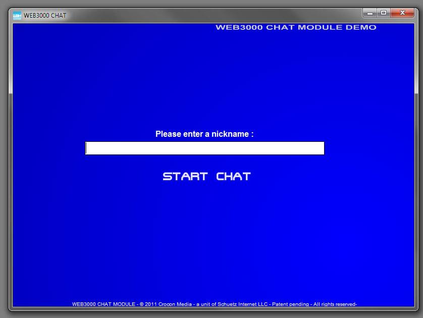 WEB3000 Chat