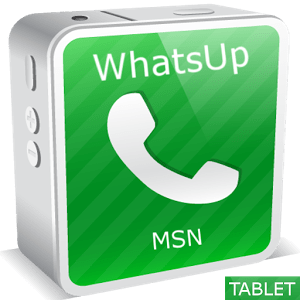WhatsUp Messenger Tablet 0.1