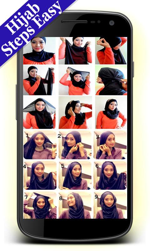 Hijab Styles Steps Easy
