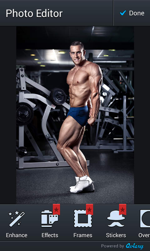 Gym Body Photo Montage