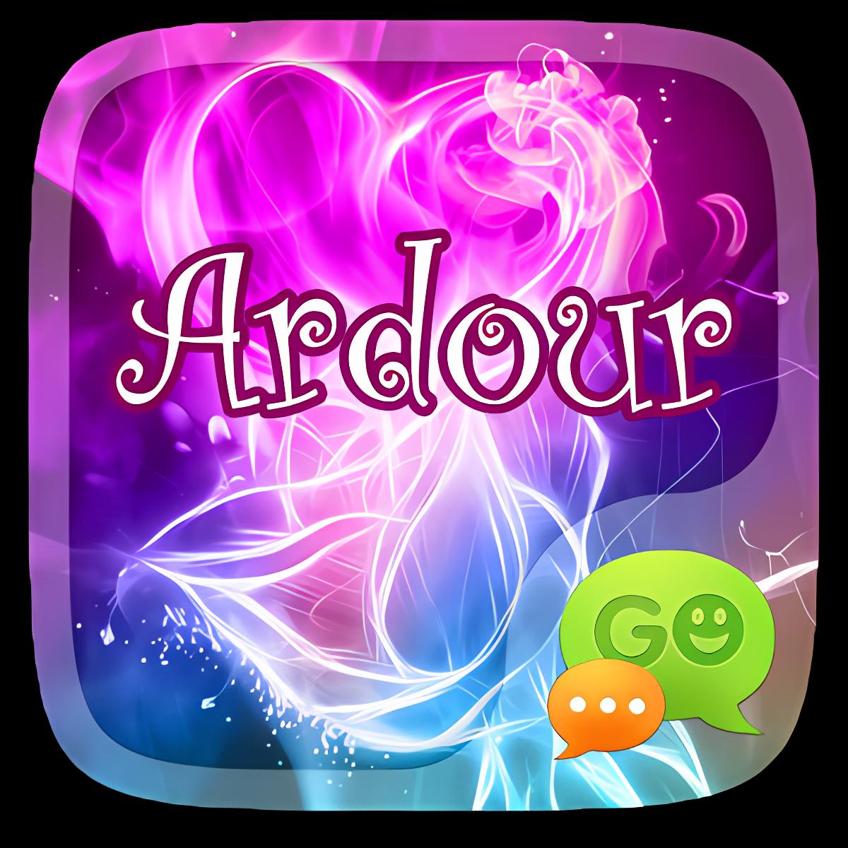 (FREE) GO SMS ARDOUR THEME 1.1