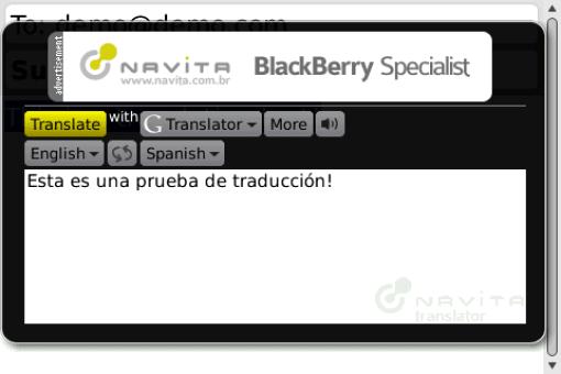 Navita Translator