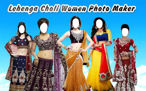 LehengaCholi Women Photo Maker