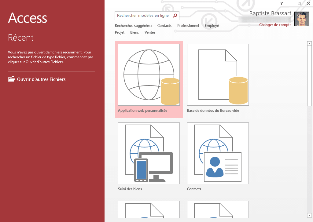 Microsoft access 2013 download for Ms access templates 2013