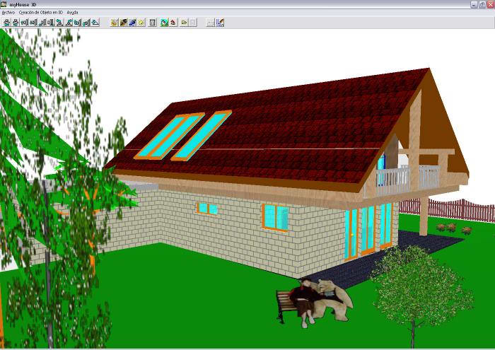 Myhouse descargar for Programas de diseno de interiores 3d gratis