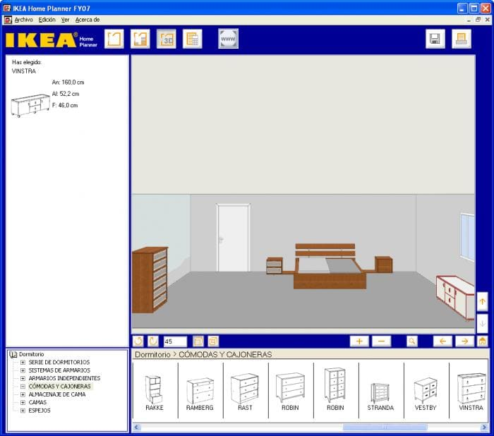 IKEA Home Planner Bedroom