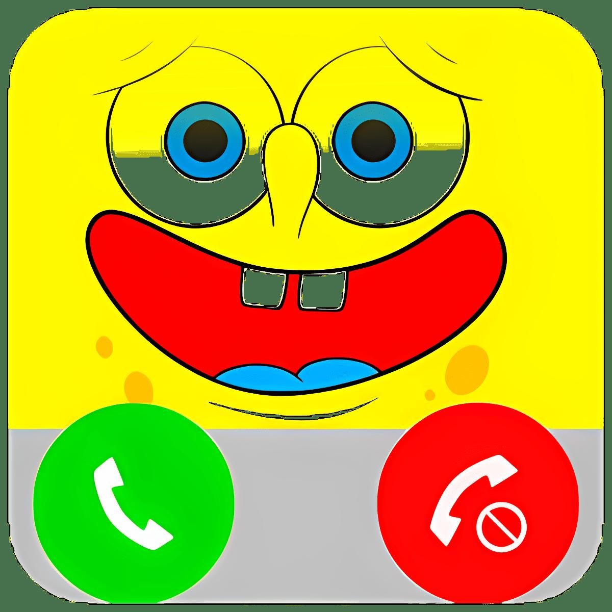 Fake Call From sponge bob