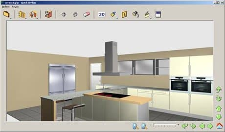 Quick3dplan descargar for Disenar cocina 3d online