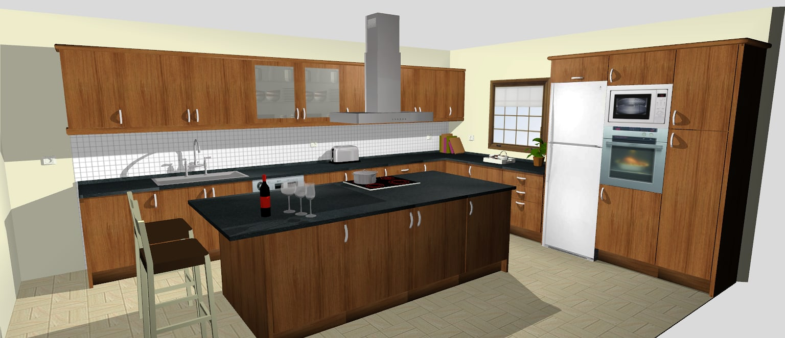 Quick3dplan descargar for Diseno cocinas 3d