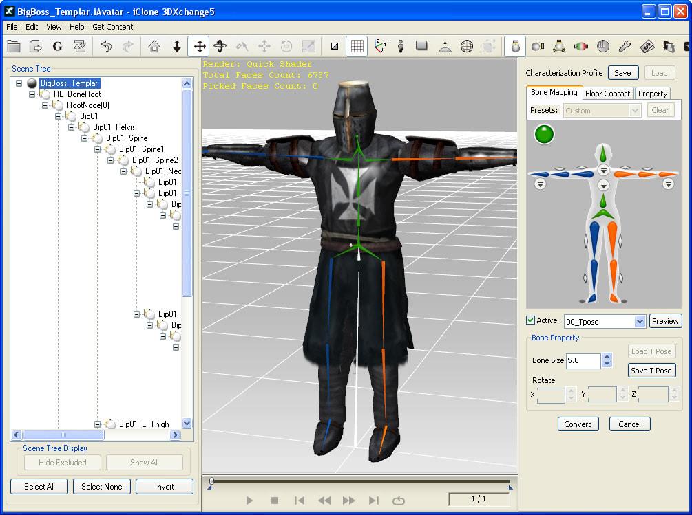 Free bvh motion capture download