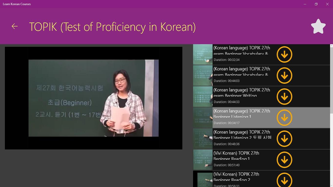Learn Korean Courses